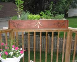 deck railing planter boxes ideas u2014 new decoration deck railing