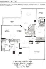 Hacienda Floor Plans Find Sun City Grand Hacienda Floor Plan U2013 Leolinda Bowers Realtor