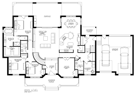 prissy design walkout basement floor plans 1 story house with cool