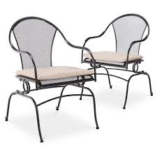 Wrought Iron Patio Dining Set Hamlake 7 Wrought Iron Motion Patio Dining Set Target