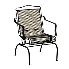 Black Iron Outdoor Furniture by Arlington House Sturdy Stack Action Chair