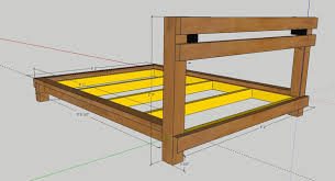 custom bed frame 3 steps with pictures