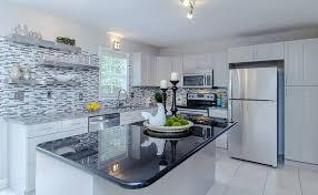 tile backsplash for kitchens with granite countertops black granite countertops colors styles designing idea