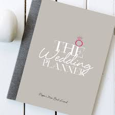 wedding planner notebook personalised wedding planner notebook and journal illustries