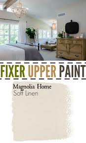 fixer upper soft linen pretty color for master bedroom chip