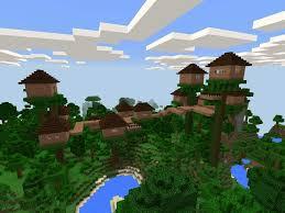 Best Tree House Build  Minecraft Amino