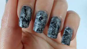real marble nail art tutorial with a stamper the nailasaurus mani