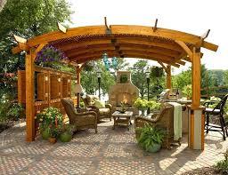garden pergola with roof exteriorunfinished garden pergola roof
