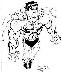 superman sketch by alfadogtbd on deviantart