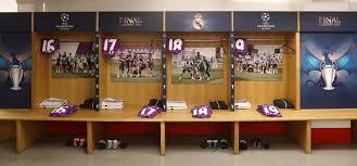 Dressing Room Pictures Revealed Real Madrid U0027s Secret Dressing Room Technique Designed To