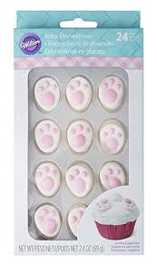 bunny decorations wilton industries easter bunny icing decorations