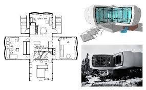 blueprint of house monsanto house of the future 1957 shadows of light