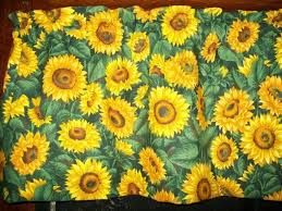 Sunflower Valance Kitchen Curtains by 33 Best New Sunflower Kitchen With Black Images On Pinterest