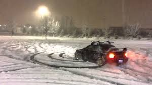 subaru winter subaru sti snow drifting youtube
