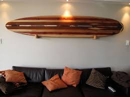creative surfboard wall art home decorations made from various