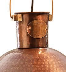Hammered Copper Pendant Light Copper Pendant Lighting Leandrocortese Info