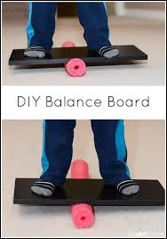 a wobble board helps you to develop balance and coordination as
