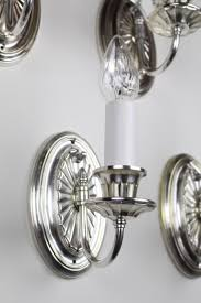 adam style sconces with restored silver plate finish u2013 quantities