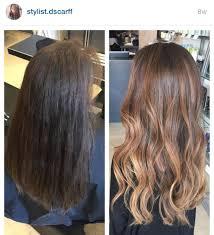 carmel hair fall hair color long hair carmel highlights ombré