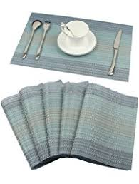 Table Place Mats Amazon Com Place Mats Home U0026 Kitchen