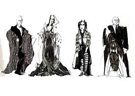 Addams Family Costumes Costume Design For The Addams Family 1991 By Strawberry Tequila