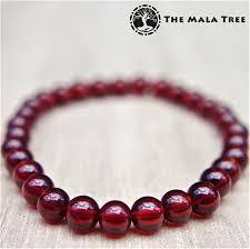 garnet bracelet images Hessonite garnet bracelet 6mm the mala tree jpg