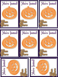 halloween invitations free printable halloween invitations