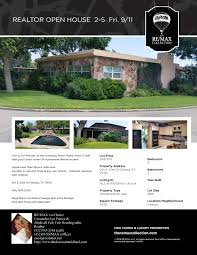 realtor open house flyer midland texas real estate open houses