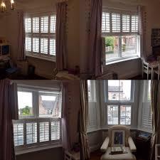 a tier on tier standard window shutter u0026 café style 3 sided bay
