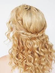 on the go hairstyles 9 easy on the go hairstyles for naturally curly hair byrdie au
