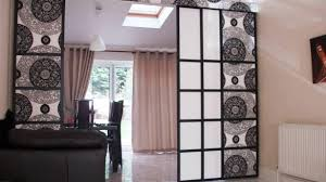 amazing awesome fabric room divider hanging curtain room divider