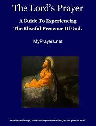 the lord u0027s prayer spiritual poems inspirational poems