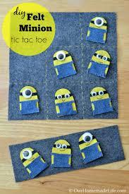 Where To Buy Minion Tic Tacs Fun Kid Crafts Diy Felt Minion Tic Tac Toe Board Our Homemade Life
