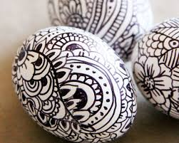 Easter Egg Decorating Pens by Creative Easter Egg Coloring Idea Sharpie Pen Art Kids Play