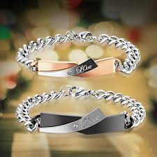 titanium steel love bracelet images Quot beauty and the beast quot love theme titanium steel lover jpg