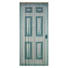 Beaded Curtains At Walmart by Bamboo54 White Door Bamboo Outdoor Curtain Walmart Com