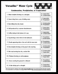 Water Cycle Worksheet Pdf Science Teaching Resources