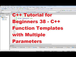 c tutorial for beginners 39 c function templates with