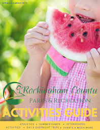 Harrisonburg Flag Football 2017 Summer Activities Guide By Rockingham County Parks And