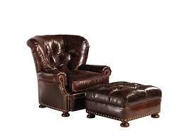 Restoration Hardware Recliner Restoration Hardware Churchill Leather Chair And Ottoman Copycatchic