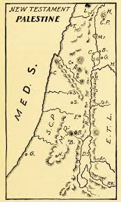 New Testament Map The Project Gutenberg Ebook Of Outline Studies In The New