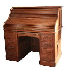 Unfinished Desk Furniture Gorgeous Rolltop Computer Desk History With Old Wood