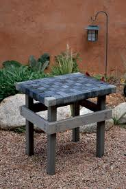 Park Bench Made From Recycled Plastic Try This Tiny Footprint Garden Bench Plastic Lumber Diy Garden