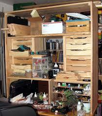 bureau fait maison bricolage un sur bureau établi de modélisme fait maison l établi