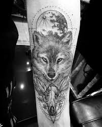 70 wolf skull designs for masculine ink ideas