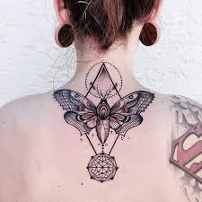 butterfly and pyramid back neck ideas for