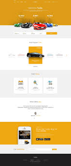 modern resume template free 2016 turbo turbo car rental psd template for car rental and booking