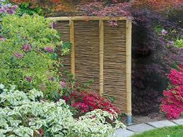 zäune aus bambus selber machen heimwerkermagazin