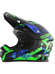 motocross helmets for kids freegun neon green blue 2017 xp4 trooper kids mx helmet freegun