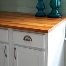 how to install ikea butcher block countertops u2014 weekend craft